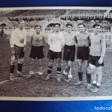 Coleccionismo deportivo: (F-17022)FOTOGRAFIA ZAMORA(R.MADRID),ZABALO,NOGUES,VANTOLRA(C.F.BARCELONA)SOLE Y BOSCH(R.C.D.ESPAÑOL. Lote 75875467