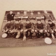 Coleccionismo deportivo - FOTO(20 X 15)CLASIF.EUROCOPA NACIONES,WEMBLEY(3-4-1968)INGLATERRA 1 ESPAÑA 0-ALINEACIÓN ESPAÑA. - 77508817