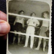 Coleccionismo deportivo: ANTIGUA FOTO COMBATE DE BOXEO. ESPAÑA. . Lote 78550501