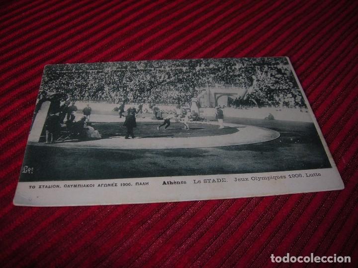 POSTAL DE LOS JUEGOS OLÍMPICOS DE ATENAS.AÑO 1906 (Coleccionismo Deportivo - Documentos - Fotografías de Deportes)