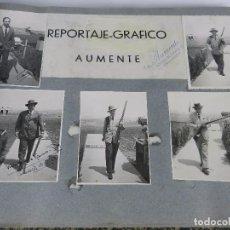 Coleccionismo deportivo: ALBUM DEL CAMPEONATO DEL MUNDO DE TIRO DE PICHON, 1949, CELEBRADO EN LA MORALEJA, MADRID, ENTRE LOS . Lote 80924048