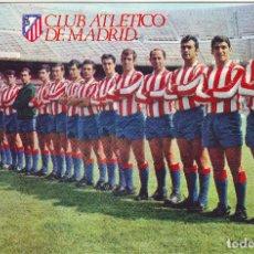 Coleccionismo deportivo: FOTOGRAFÍA DE LA PLANTILLA DEL ATLETICO DE MADRID TEMPORADA 1967/68. Lote 81593936