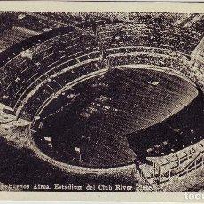 Coleccionismo deportivo - POSTAL ESTADIO CLUB RIVER PLATE DE BUENOS AIRES AÑOS 1960 - 81663452
