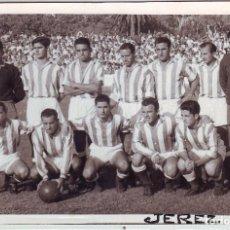Coleccionismo deportivo: FOTOGRAFÍA DEL C.D. JEREZ. Lote 81665692