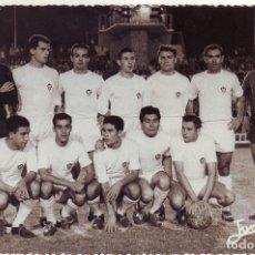 Coleccionismo deportivo: FOTOGRAFÍA DEL ALBACETE EN EL CARRANZA 1961/62. Lote 81667072