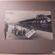 Coleccionismo deportivo: AUTOMOVILISMO - ANTIGUA FOTOGRAFIA PENYA RHIN GRAN PRIX GRAN PREMIO DE ESPAÑA , DARIO RESTA , CONTE . Lote 82768376