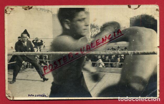 FOTOGRAFIA BOXEO, FOTO BOXEADOR , POSTAL , VALENCIA , ORIGINAL ,BX17 (Coleccionismo Deportivo - Documentos - Fotografías de Deportes)