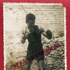 Coleccionismo deportivo: FOTOGRAFIA BOXEO, FOTO BOXEADOR TEO , AUTOGRAFO ,ORIGINAL ,BX51. Lote 83300340