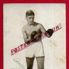 Coleccionismo deportivo: FOTOGRAFIA BOXEO, FOTO BOXEADOR MUÑOZ , AUTOGRAFO , POSTAL ,ORIGINAL ,BX56. Lote 83301088