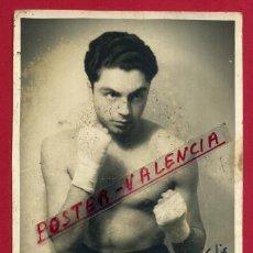 Coleccionismo deportivo: FOTOGRAFIA BOXEO, FOTO BOXEADOR JOSE GONZALEZ , AUTOGRAFO ,1944 , ORIGINAL ,BX83. Lote 83304864