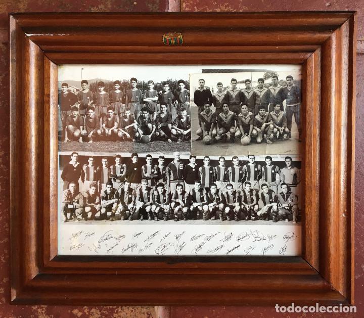 FOTO FC CF FUTBOL CLUB BARCELONA BARÇA CAMPEON AÑOS 50 KUBALA FIRMAS AUTOGRAFOS PLANTILLA JUVENIL 6 (Coleccionismo Deportivo - Documentos - Fotografías de Deportes)