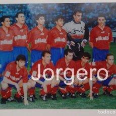 Coleccionismo deportivo: R. ZARAGOZA. ALINEACIÓN CAMPEÓN COPA DEL REY 1993-1994 EN EL CALDERÓN CONTRA EL CELTA. FOTO. Lote 209212083
