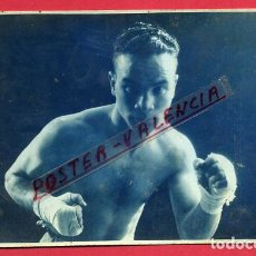 Coleccionismo deportivo: FOTOGRAFIA BOXEO, FOTO BOXEADOR CARLOS MIRALLES , AUTOGRAFO DORSO POSTAL ,ORIGINAL ,BX105. Lote 86727952