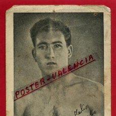 Coleccionismo deportivo: FOTOGRAFIA BOXEO, FOTO BOXEADOR FRANCISCO MOLINA 1943 , AUTOGRAFO ,ORIGINAL ,BX110. Lote 86729020