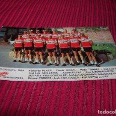 Coleccionismo deportivo: POSTAL EQUIPO CICLISTA 1974 LA CASERA BAHAMONTES.. Lote 86735916