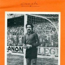 Coleccionismo deportivo: GARCIA REMON ( REAL MADRID ) -- FOTOGRAFIA PUBLICITARIA EN CARTON DE ' PUMA '. Lote 87069496