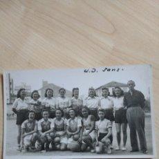 Coleccionismo deportivo: FOTOGRAFIA U. D. SANTS.. Lote 87120627