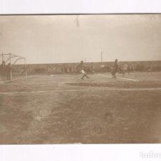 Coleccionismo deportivo: CAMPO DE FUTBOL POR IDENTIFICAR, ESPAÑA 1920'S. . Lote 89898492