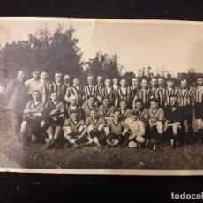 Coleccionismo deportivo: POSTAL FOTOGRAFICA EQUIPO DE FUTBOL. Lote 91248210