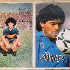 Coleccionismo deportivo: ANTIGUOS PÓSTERS MARADONA.. Lote 92066143