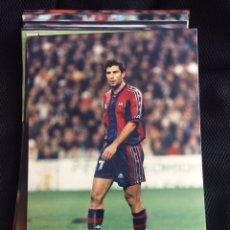 Coleccionismo deportivo: FOTO FIGO BARCELONA. Lote 93103758