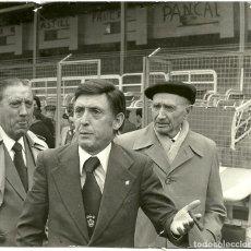 Coleccionismo deportivo: ANTIGUA FOTOGRAFIA ORIGINAL - PRIMERA HUELGA DE FUTBOLISTAS - MARZO DE 1979. Lote 93820905