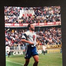 Coleccionismo deportivo: FOTO RUFETE MALAGA C F 20X28. Lote 93971724