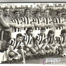 Coleccionismo deportivo: ANTIGUA FOTOGRAFIA ORIGINAL DEL CASTELLON EN SU EPOCA DE PRIMERA DIVISION . Lote 94173280