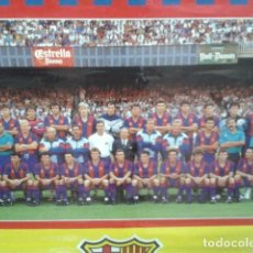 Coleccionismo deportivo: F. C BARCELONA POSTERS CARTEL GRANDE DE 98 X 68 CM 1991 SCANDECOR -. Lote 96102303