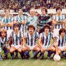 Colecionismo desportivo: FOTOGRAFIA 15X20 REAL SOCIEDAD 1980-1981 CON FIRMAS (LEER). Lote 96458355