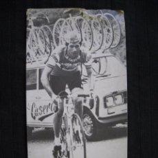 Coleccionismo deportivo: POSTAL PUBLICITARIA - DAMASO TORRES - LA CASERA.. Lote 99522827