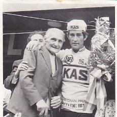 Coleccionismo deportivo: FOTOGRAFIA CICLISMO CORREDOR EQUIPO KAS . Lote 99922867