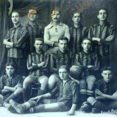 Coleccionismo deportivo: EQUIPO DE FÚTBOL. BARÇA(?). FOTOGRAFIA. ESPAÑA. CIRCA 1920. Lote 100062847