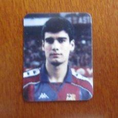 Coleccionismo deportivo: CURIOSA PEQUEÑA FOTO PEP GUARDIOLA FC BARCELONA AÑOS 90 MINI FOTOGRAFIA. Lote 100142767