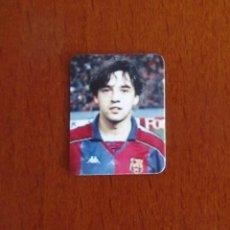 Coleccionismo deportivo: CURIOSA PEQUEÑA FOTO IVAN IGLESIAS FC BARCELONA AÑOS 90 MINI FOTOGRAFIA. Lote 100200299