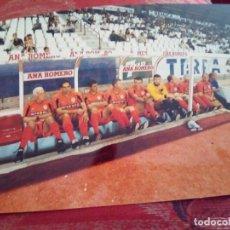 Coleccionismo deportivo: FOTO BANQUILLO VALENCIA CF ORIGINAL FOTOGRAFO FRANCISCO MARTI. Lote 101203527