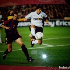 Coleccionismo deportivo: FOTO AIMAR VALENCIA CF ORIGINAL FOTO NUMERADA. Lote 101203611