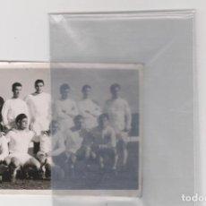 Coleccionismo deportivo: REAL MADRID - FOTOGRAFIA ORIGINAL - AÑO 1962 - AMISTOSO EN CARTAGENA - 3 DE ENERO DE 1962. Lote 101233287