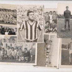 Coleccionismo deportivo: C. D. BADAJOZ - LOTE FOTOGRAFIAS ORIGINALES - AÑOS 60. Lote 101234787