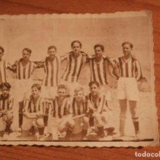 Coleccionismo deportivo: ANTIGUA FOTOGRAFIA EQUIPO DE FUTBOL FRENTE DE JUVENTUDES DE SANTA MARTA,1946, BADAJOZ. Lote 103178663