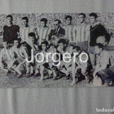 Coleccionismo deportivo: GRANADA C.F.ALINEACIÓN FINALISTA COPA GENERALÍSIMO 1958-1959 EN EL BERNABÉU CONTRA EL BARCELONA.FOTO. Lote 103889671