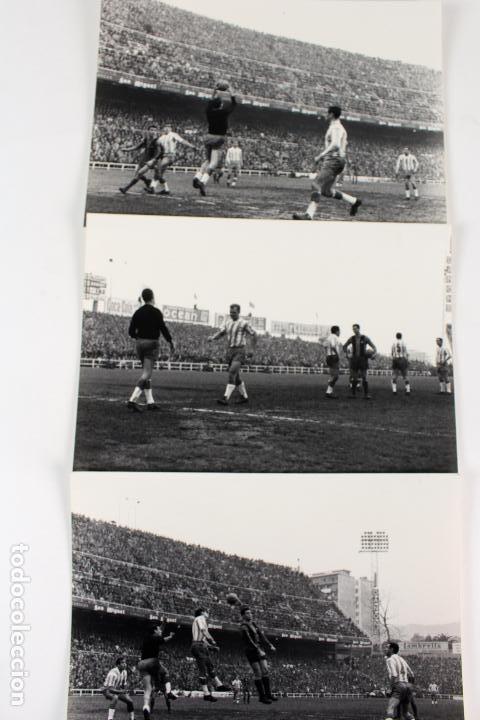 FG-261. RCD ESPAÑOL-FC BARCELONA. KUBALA EN EL EQUIPO ESPAÑOLISTA. TEMPORADA 1963-64 (Coleccionismo Deportivo - Documentos - Fotografías de Deportes)