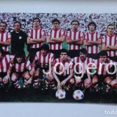 Coleccionismo deportivo: ATH. BILBAO. CAMPEÓN COPA GENERALÍSIMO 1972-1973 EN EL CALDERÓN CONTRA EL CASTELLÓN. FOTO. Lote 144918468