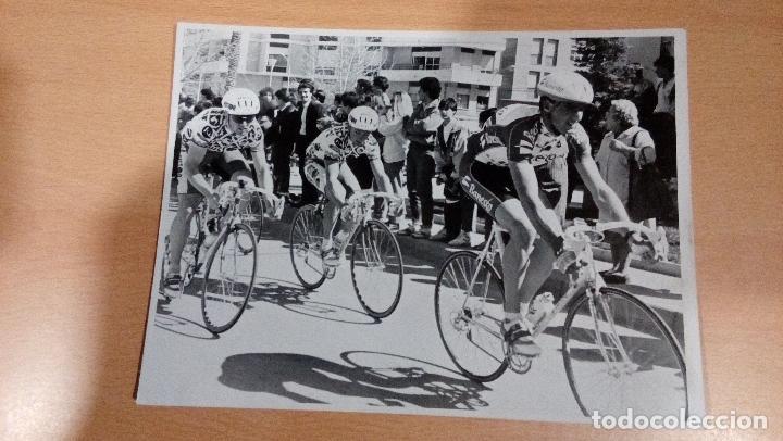 Coleccionismo deportivo: foto original Indurain etapa vuelta a murcia años 90 - - tamaño 24x18 - Foto 2 - 107237991