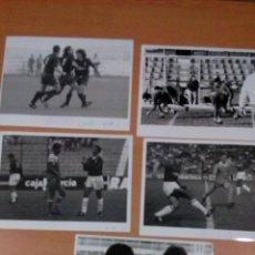 Coleccionismo deportivo: LOTE 5 FOTOGRAFIAS ORIGINALES REAL MURCIA AÑOS 90 - MEDIDAS 24 X18 - FOTOS TITO BERNAL MURCIA . Lote 107282187