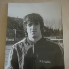 Coleccionismo deportivo - Fotografías originales del portero español Luis Arconada, Real Sociedad selección española - 107516099