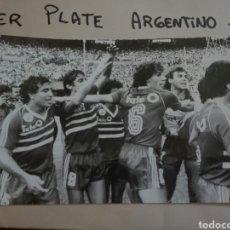 Coleccionismo deportivo - Fotografías originales pertenecientes a un archivo periodístico. River plate argentino Libertadores - 107663018