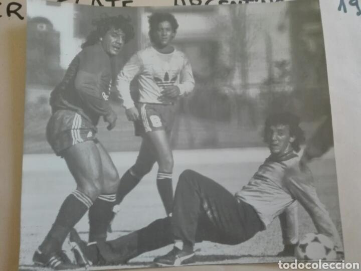 Coleccionismo deportivo: Fotografías originales pertenecientes a un archivo periodístico. River plate argentino Libertadores - Foto 5 - 107663018