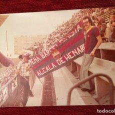Coleccionismo deportivo: CJ151 ANTIGUA FOTO FOTOGRAFIA AFICIONADOS PEÑA BARCELONISTA ALCALA DE HENARES. Lote 108351519
