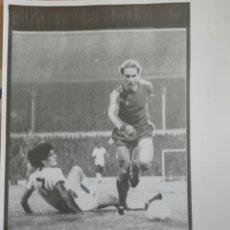 Coleccionismo deportivo: FOTOGRAFÍAS ORIGINALES PERTENECIENTES AL ARCHIVO PERIODÍSTICO. RUMMENIEGG BAYERN MUNICH ALEMANIA. Lote 108446830